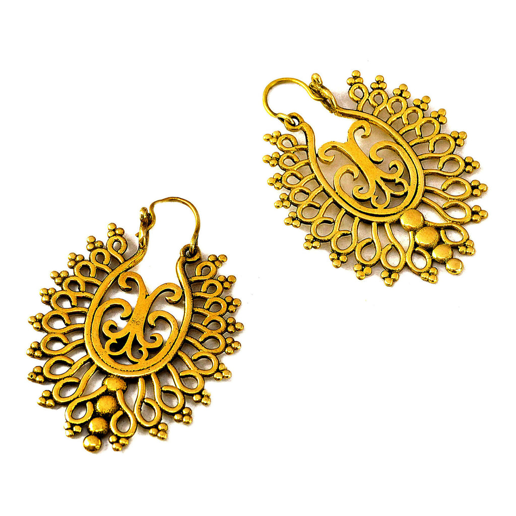 Vintage indian earrings