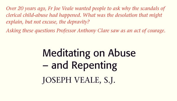 Meditating on Abuse – and Repenting