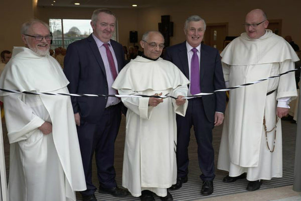 Master of the Dominican Order Opens New Classroom Block  at Newbridge College.
