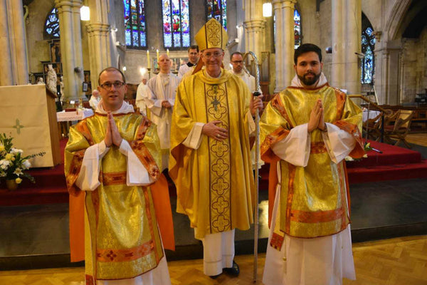 Brother Matthew Farrell and Br Jesse Maingot, members of the Irish Dominican Province, were ordained deacons yesterday.