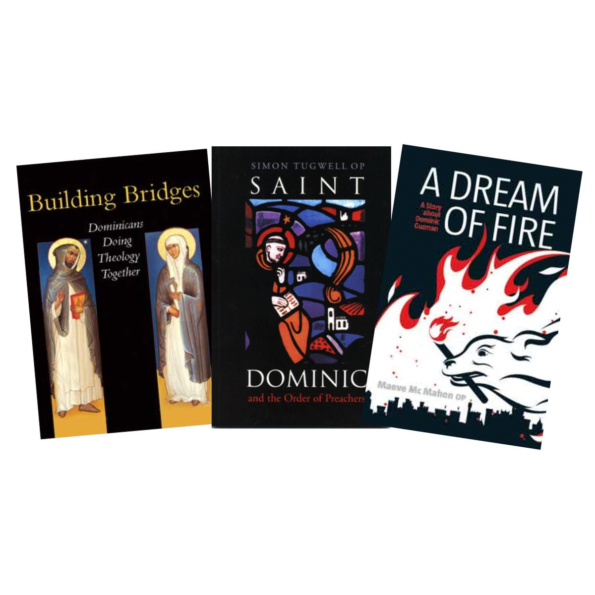 Books on the Domincan Order and Saint Dominic.