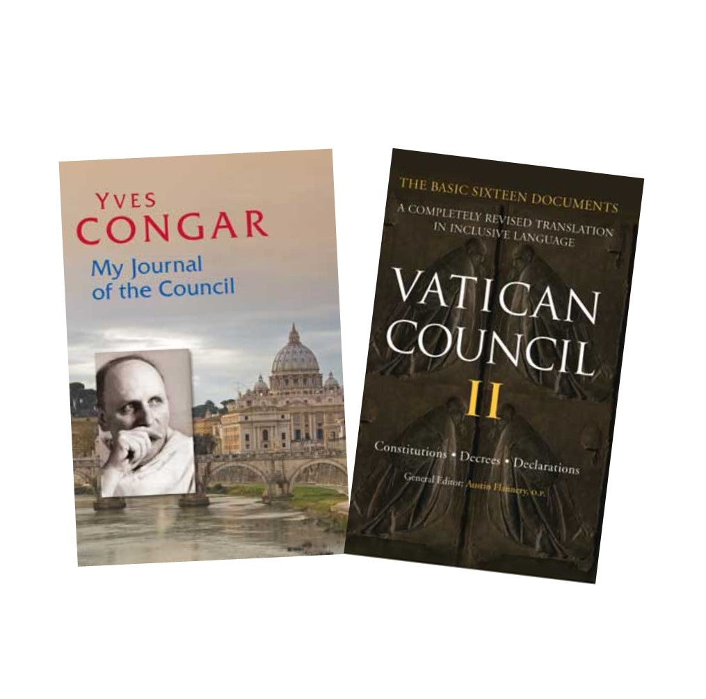 Yves Congar's Journal and Vatican Council Documents, see here for a number of books relating to church documents