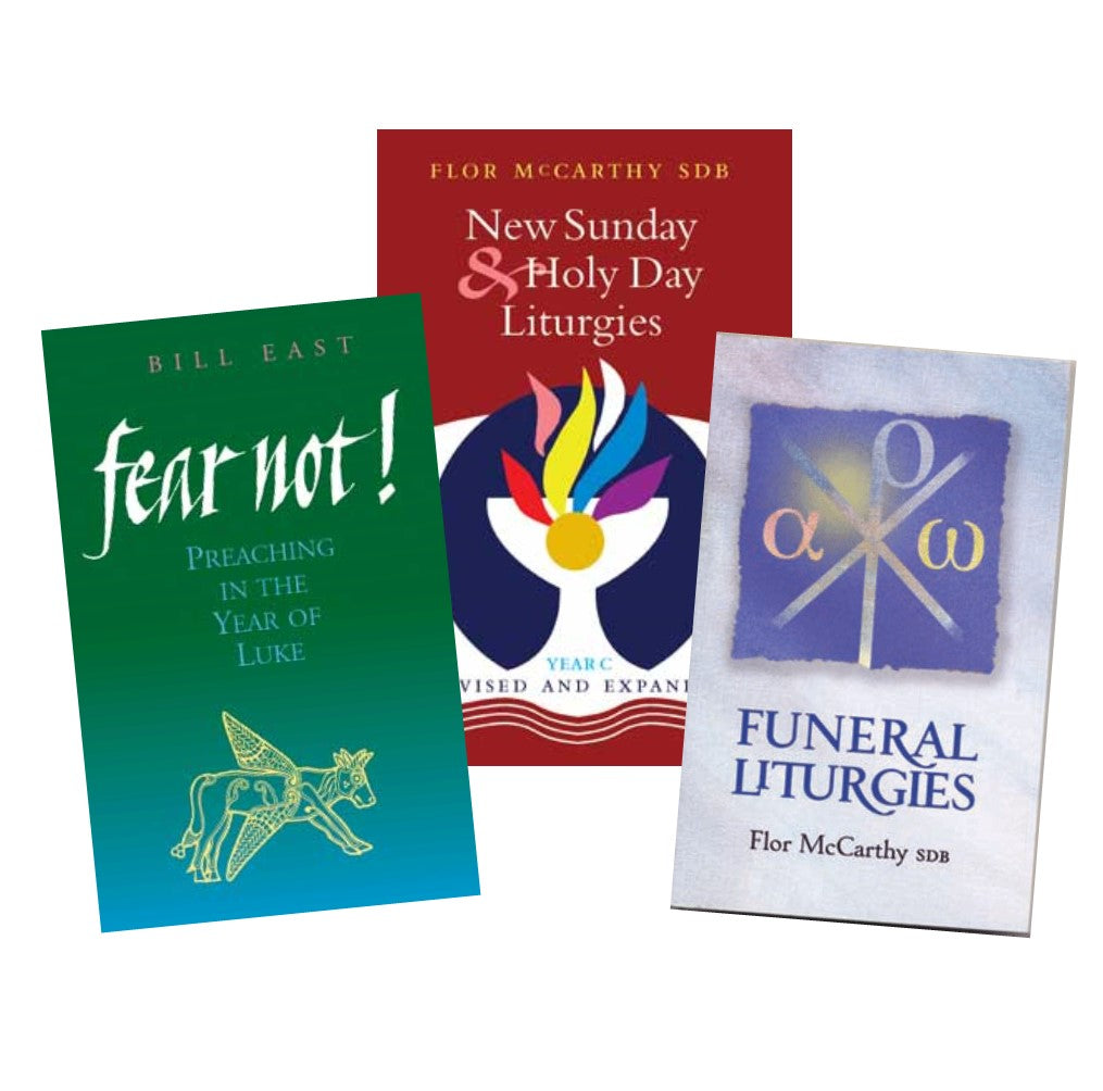 Preaching and Church Readings. Publications availble written by Flor Mccarthy and Bill East plus more