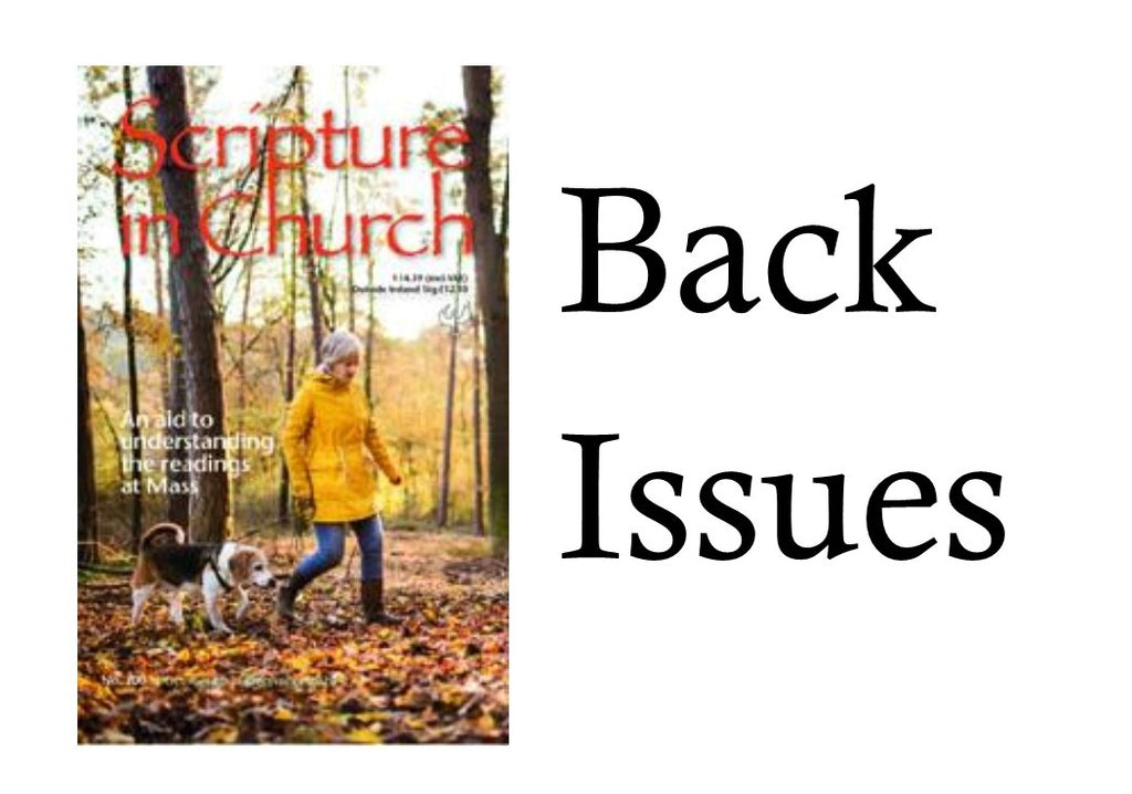 Scripture in Church - Back Issues