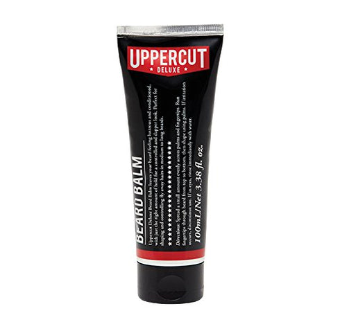 Uppercut Deluxe Conditioning Beard Balm for Control & Natural Shine, 3.38 fl.oz.