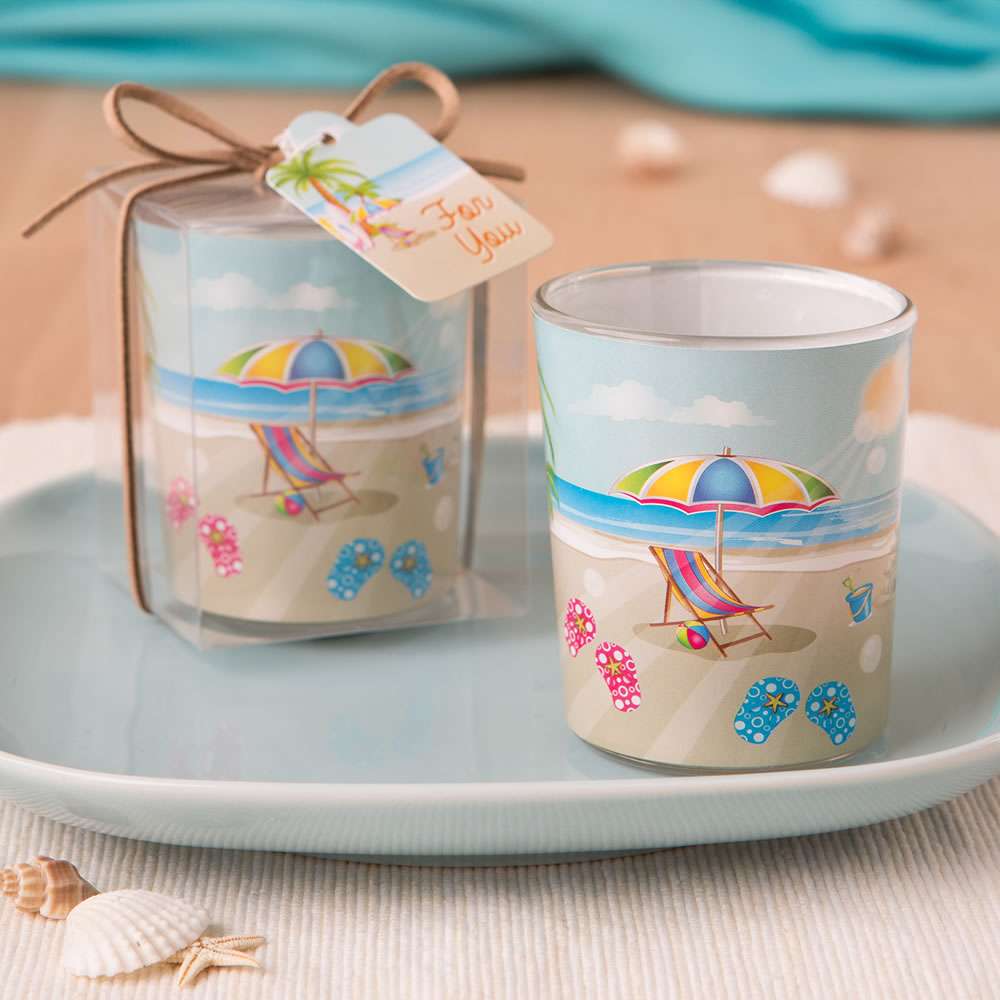 Beach Themed Votive