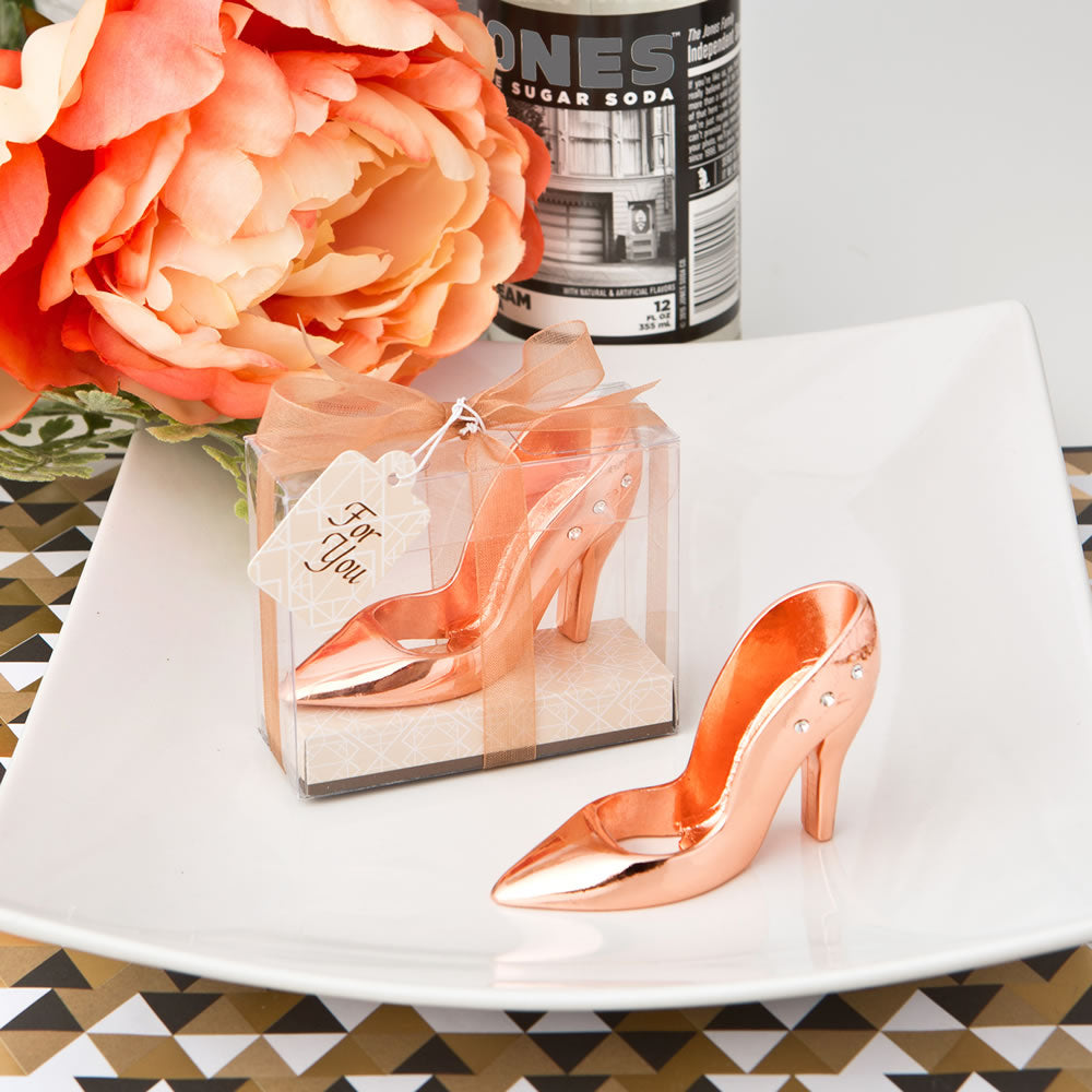 Rose Gold Shoe Design Bottle Opener