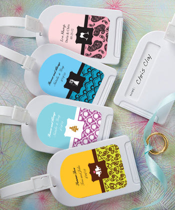 Personalised Expressions Collection Luggage Tag Favors
