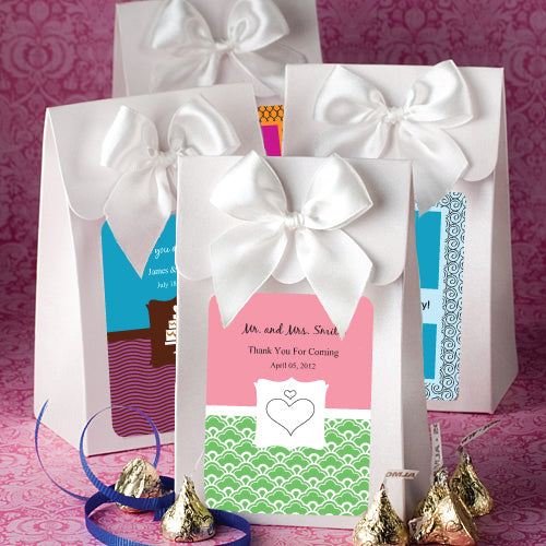 White Delivered With Love Boxes From The Personalised Expressions Collection