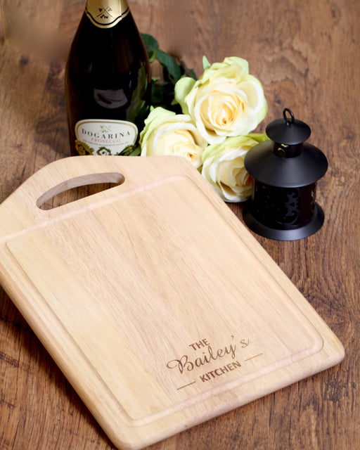 Personalised Rectangle Chopping Board 35cm x 25cm