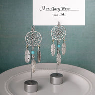 Dream catcher place card holder / Photo holder in southwest / American Indian design