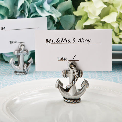 Nautical Anchor Place Card Photo Holder