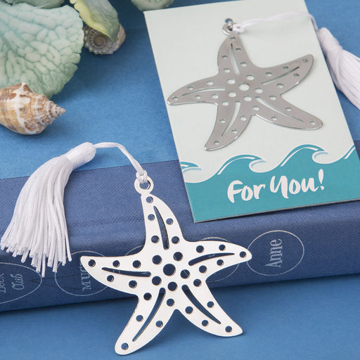 Book Lovers Collection Starfish Bookmarks Beach Themed Favours