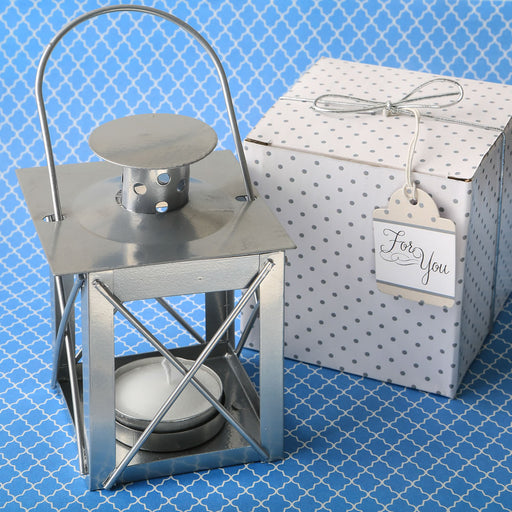 Classic lantern tealight candle holder from Solefavours