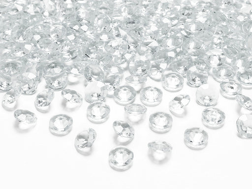 Diamond confetti, colourless, 12mm