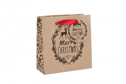 Merry Christmas' Small Gift Bag