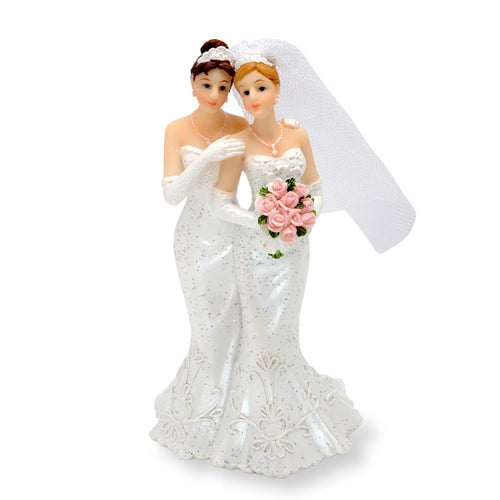 Mrs. And Mrs. Cake Topper
