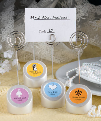 Personalised Expressions Place Card Holders