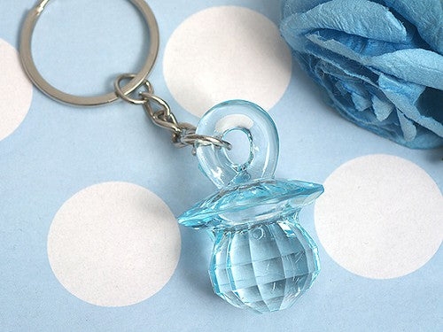 Blue Pacifier Key Chain