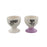 Eggcellent Egg Cups Set Bride And Groom