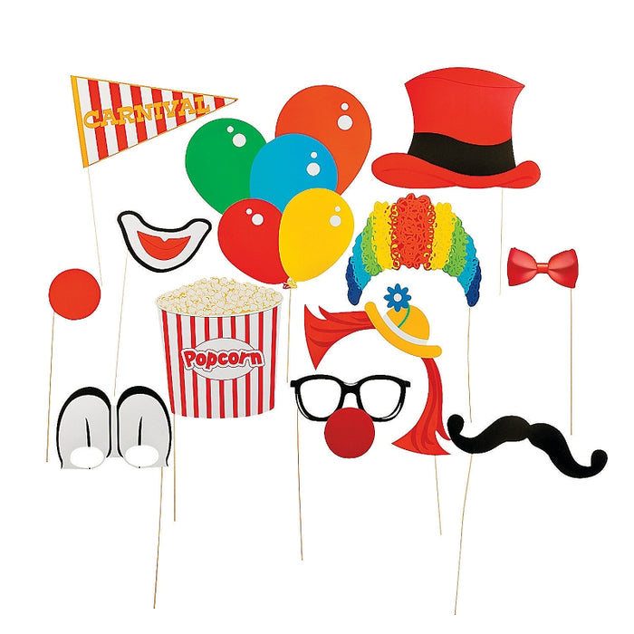 Pack of 12 Carnival Stick Costume Props