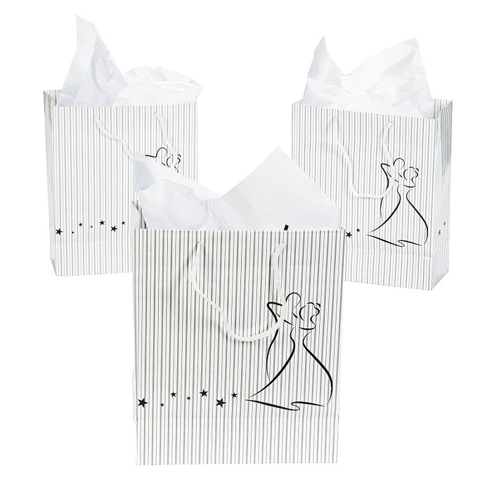 12 x Dancing Couple Gift Bags