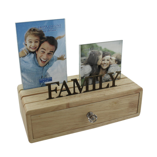 Juliana Frames & Wooden Storage Drawer - Family