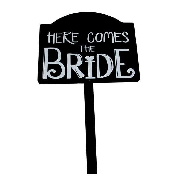 Here Come The Bride Sign