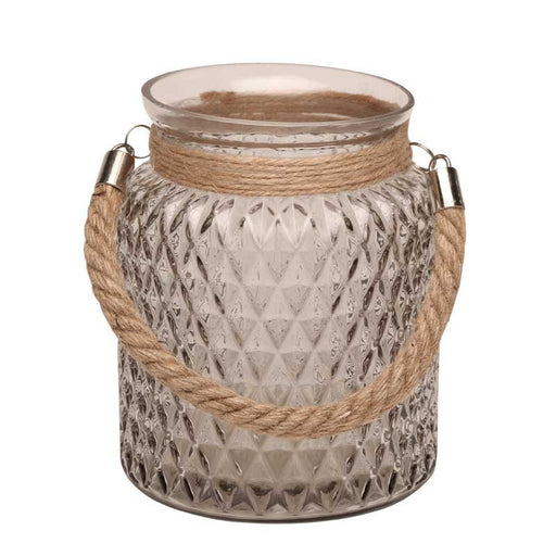 Medium Candle Jar with Rope