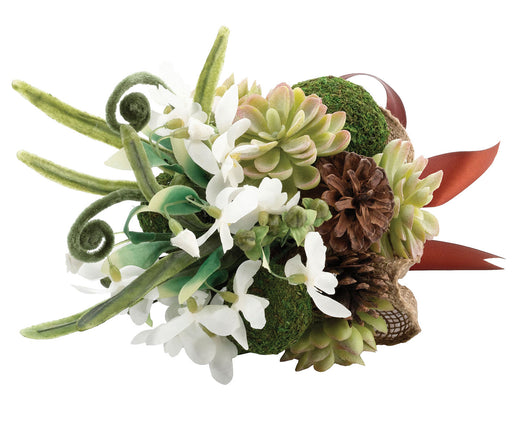 Lillian Rose Woodland Succulent and Moss Bouquet