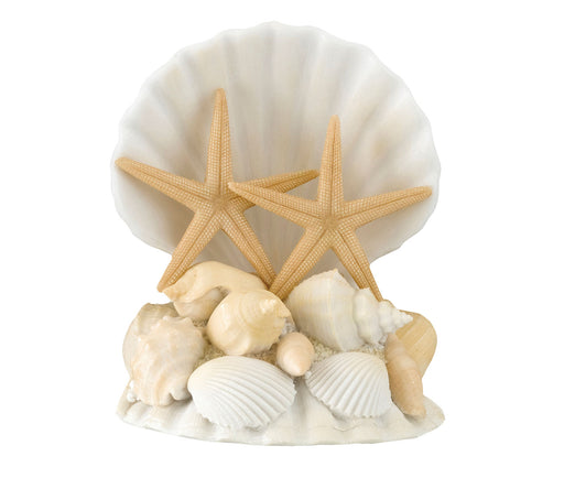 Lillian Rose Coastal Seashell Wedding Cake Topper