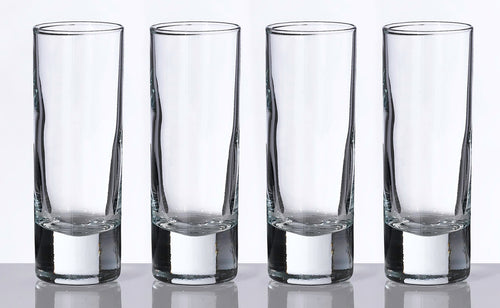 Set of 4 Tall Shot Glasses