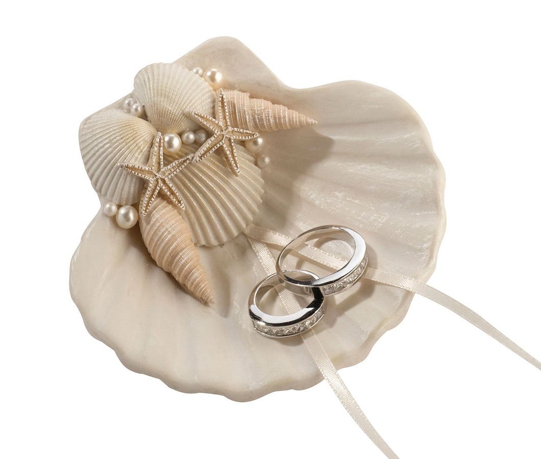 Seashell Ring Holder