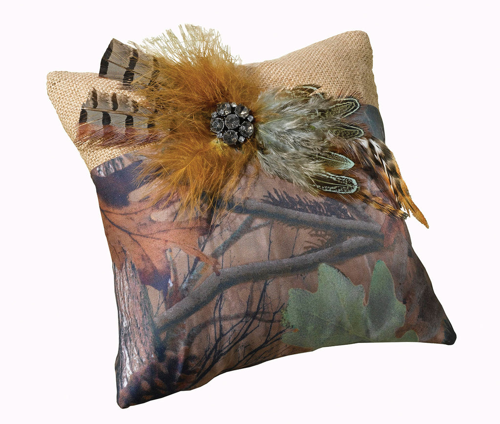 Lillian Rose Camouflage Ring Bearer Pillow