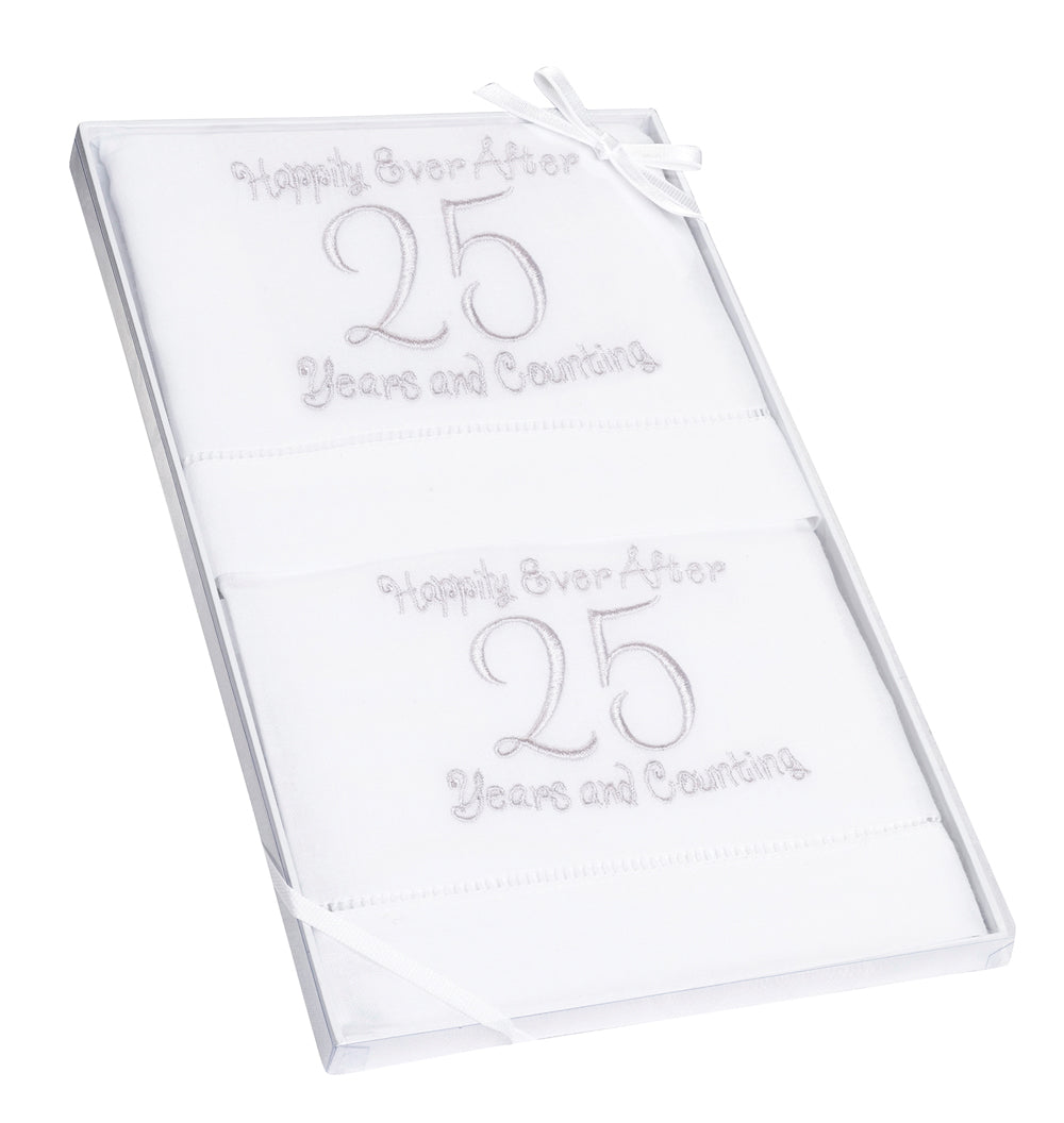 25th Anniversary Towels