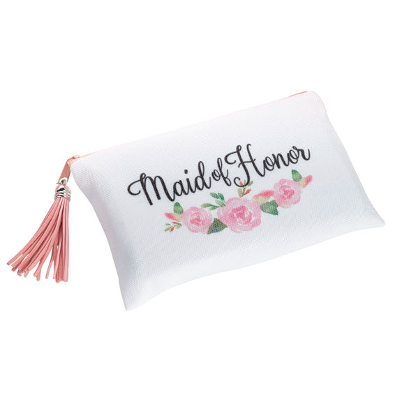 Lillian Rose Watercolor Floral Maid of Honor Survival Bag