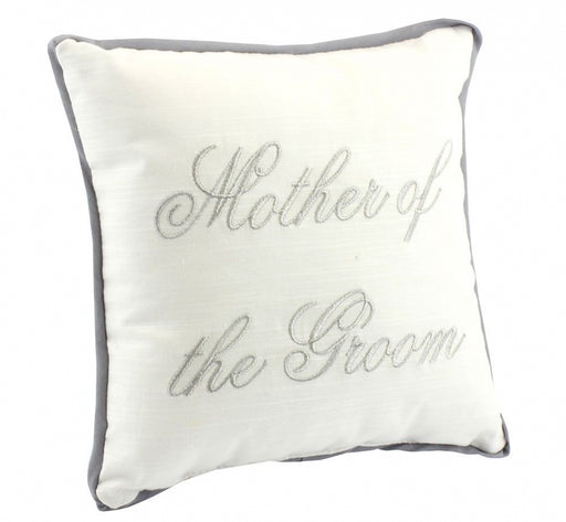 Mother of the Groom Cushion Gift - Wedding