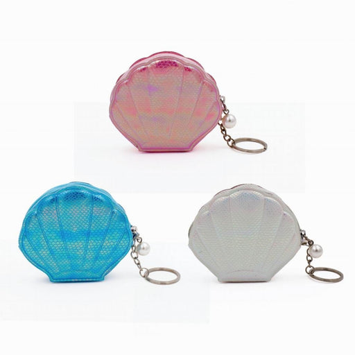 Shell Purse and Keyring Assortment of 3