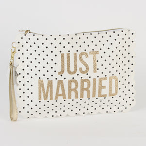 Always Forever' Multi Use Pouch With Wristlet 'Just Married