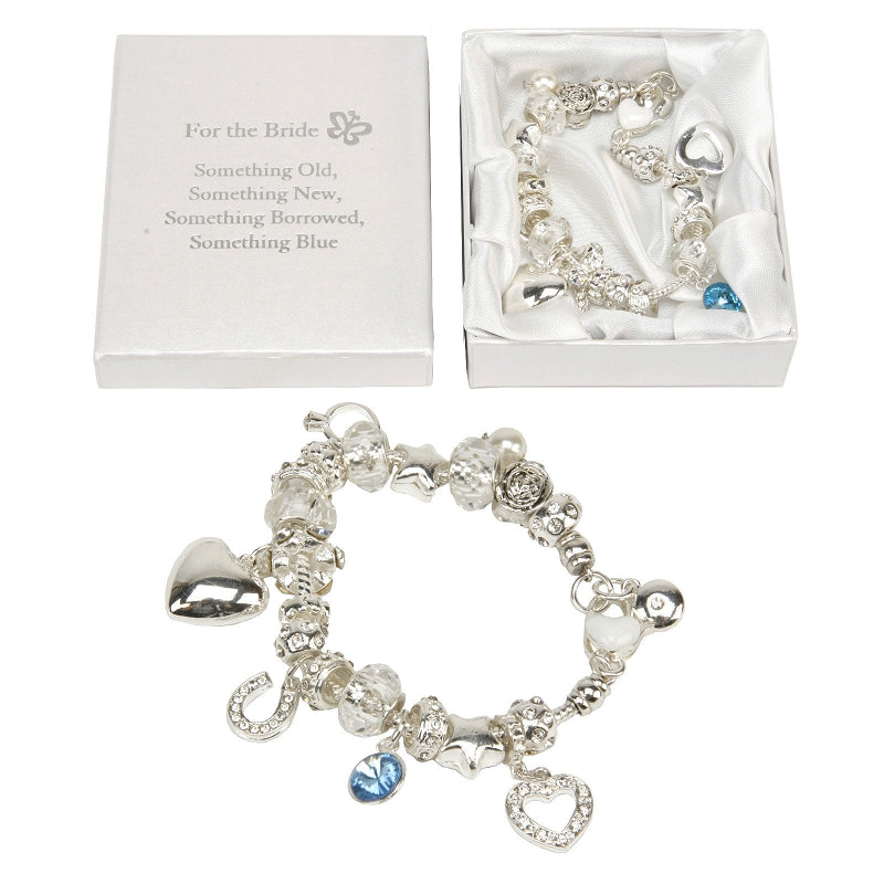 Amore Charm Bracelet Bride 'something Old. . . '