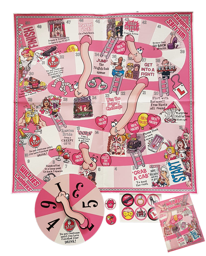 Willies And Ladders Hen Night Game