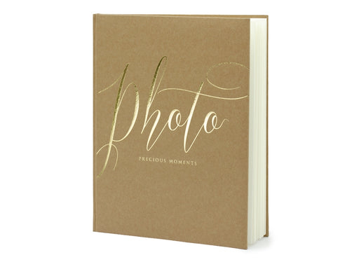 Photo album Precious moments, 20x24.5cm, kraft, 22 pages