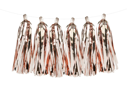 Tassel garland, rose gold