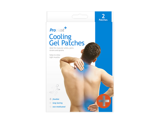 Cooling Gel Plasters - 2 Pack