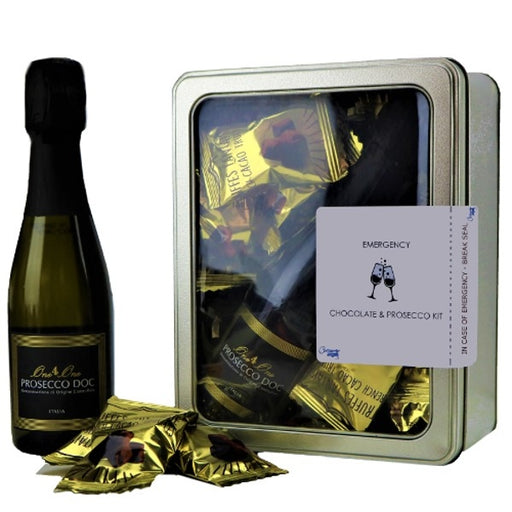 Prosecco & Chocolate Postal Kit