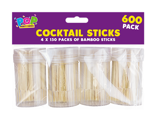 Party Cocktail Sticks 4 pack