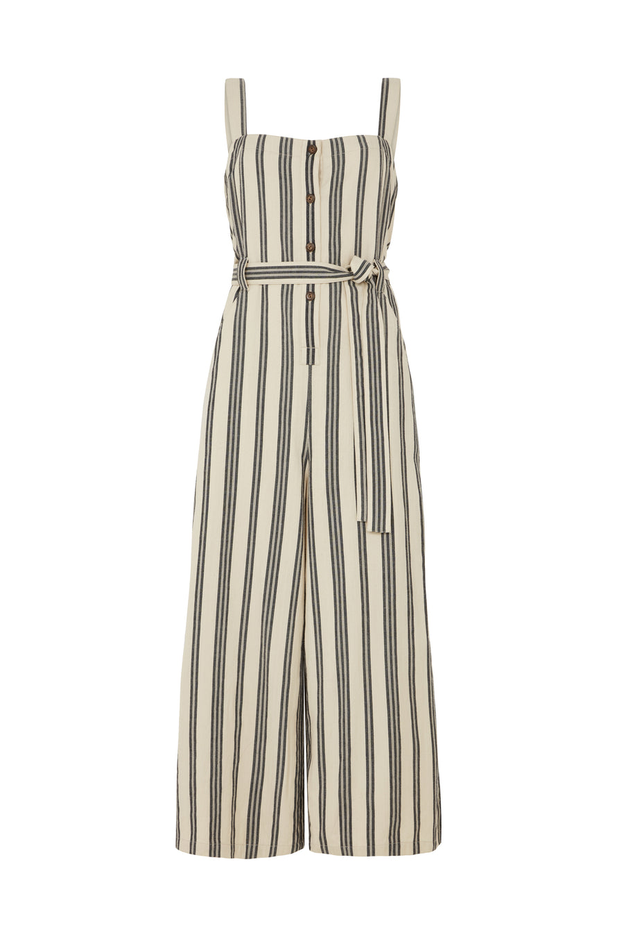 Rena Striped  Jumpsuit