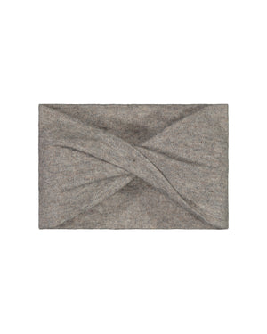 Knitted Cashmere Headband - Sand