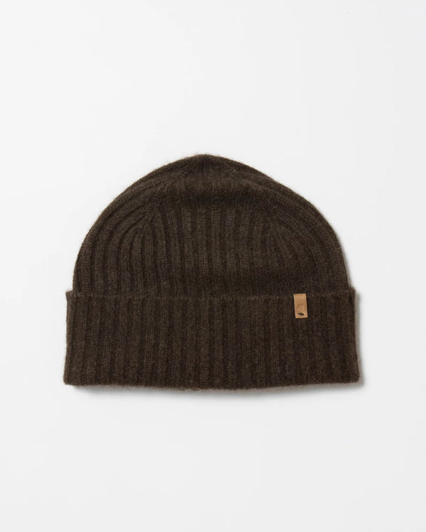 Yak Fitted Rib Hat - Dark Brown