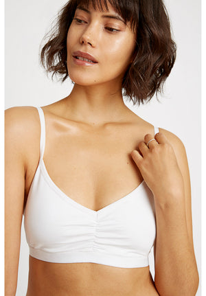 Soft Bra Top - White / S